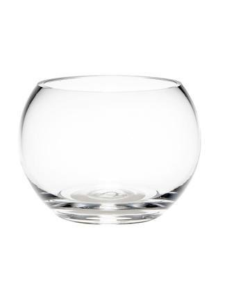 Floralcraft 15cm Fish Bowl Vases for Wedding, Decoration, Flowers High Quality Hand Made Clear