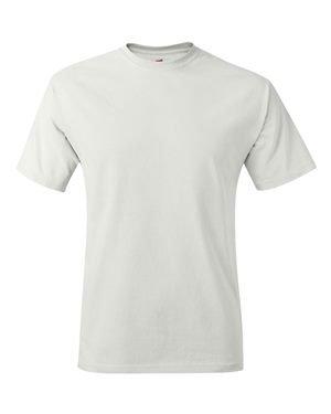 Hanes TAGLESS® T-Shirt L White (Toddler-shirts Hanes)