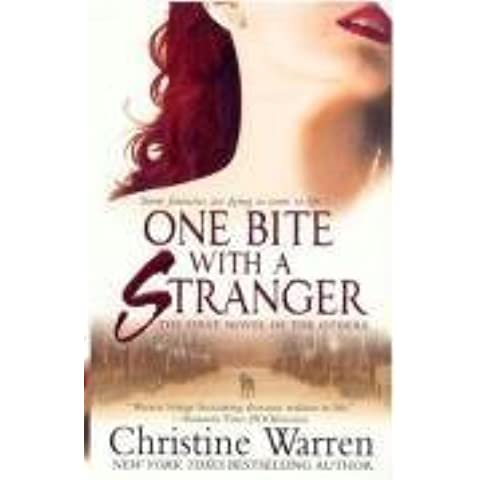 One Bite with a Stranger by Christine Warren Reissue edition (2008) - Pro Reissue