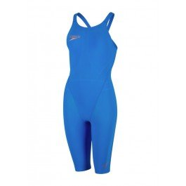 Speedo Fastskin LZR Racer Element Kneesuit - Bondi Blue/Copper - Size 28
