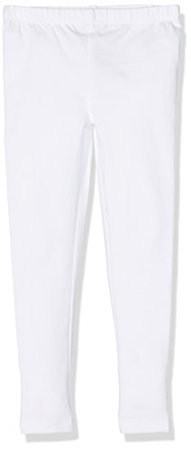 s.Oliver Leggins, Leggings Bambina, Weiß (Weiß (White 0100) 0100), 4 anni