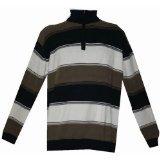 Greystone, Herren Sweatshirt, Übergröße, Blau Weiß Braun Blau
