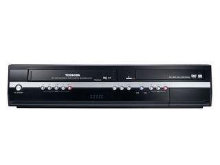 Toshiba D VR 50 KTF DVD-Rekorder/ VHS-Rekorder Kombination (DivX-Zertifiziert) schwarz (Toshiba Stereo)