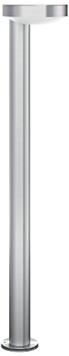 Philips luminaire extérieur LED potelet Cockatoo acier lumière blanc chaud