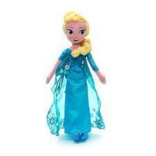Disney Gefrorene 50cm Elsa weiches Plüsch-Spielzeug - Große Gefrorene Plüschtiere