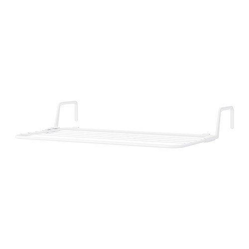 Ikea Wäscheständer (IKEA ANTONIUS -Wäscheständer weiß - 77x40 -49 cm)