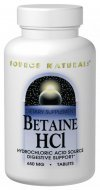 BETAINE HCL 650mg 90 Tabletten