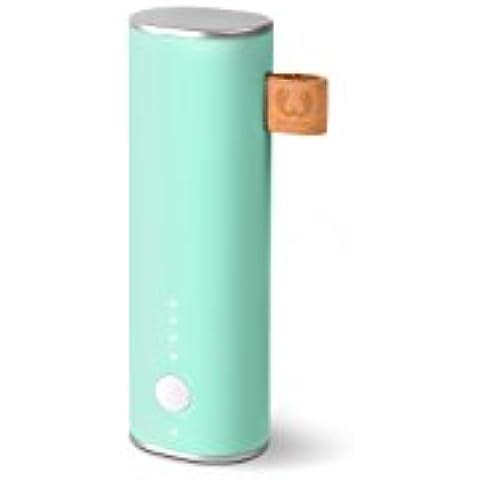 Fresh 'n Rebel 2PB1000PT batería externa - baterías externas (USB, Turquesa, Micro-USB, Teléfono móvil, Smartphone, Teléfono, Poder, Sobrevoltaje, Overcharge, Overdischarge, Sobrecalentamiento, Sobrecarga, Cortocircuito)