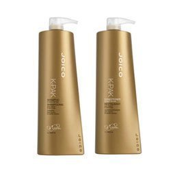 Joico K-pak Shampoo and Conditioner Liter Duo 33.8 oz Set by Joico [Beauty] by Joico -