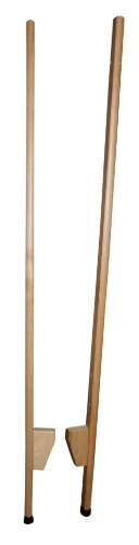 Holz - Wenzel 651 - Holzstelzen mit extra langlebigen Plastikstopfen, verstellbar, 1.50 m