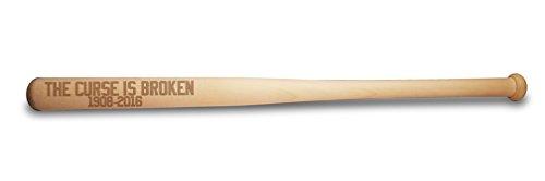 Hat Shark der Fluch ist Kaputt 45,7cm unlackiert Holz Spielzeug Mini (Nicht Full Size/Holzmaserung Farben variieren) GEDENKMÜNZE Baseballschläger World Championship Gewinner Geschenk