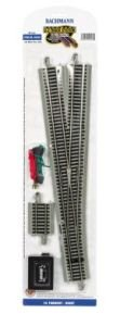 Bachmann Trains Snap-Fit E-Z Track # 6 Turnout - Right