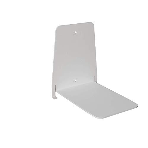 Ve.ca.s.r.l. reggilibri invisibile-libreria mensola design per libri sospesi, bianco, 12 x 12 x h 15 cm