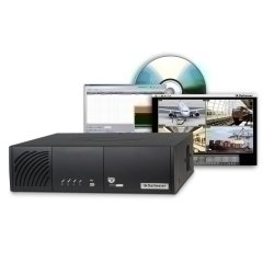 SVS 1 DALLMEIER, SMAVIA Viewing Station, Core2Quad 2,66 GHz, 4 GB DDR3, inkl. Software, ohne HDD In Verbindung mit dem ab Werk installierten SMAVIA Viewing Client dient die Workstation als zentrales Auswertungsgerät für das gesamte Videosystem. Dabei ermöglicht die leistungsstarke Intel Core2Quad CPU eine flüssige Videoanzeige bei hoher Bildqualität in bis zu 24 unabhängigen Splits. Zudem ist die PGuard advance Meldungsmanagement-Software ab Werk integriert. Sie unterstützt die zentrale Ve Viewing Station