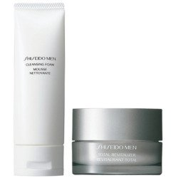 SHISEIDO MEN SKIN ENERGIZING ESPUMA LIMPIADORA 125ML + TOTAL REVITALIZER 50ML (precio: 48,68€)