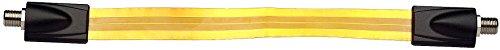 Axing SAK 25-01 Fensterdurchführung für Koaxialkabel 25 cm ultra-flach mit F-Buchsen