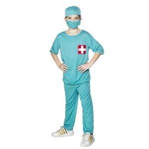 Chirurgen Kinder Kostüm - Kind Chirurg Kostüm-Medium