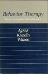 Behaviour Therapy: Towards an Applied Clinical Science