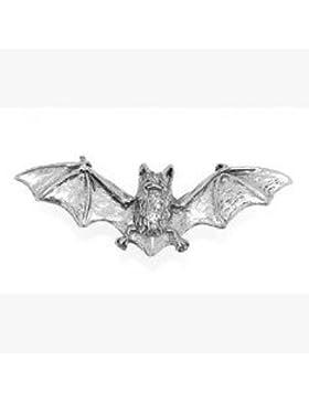 Bat Fledermaus Gothic Brosche Geschenk, wird in Organza-Beutel geliefert