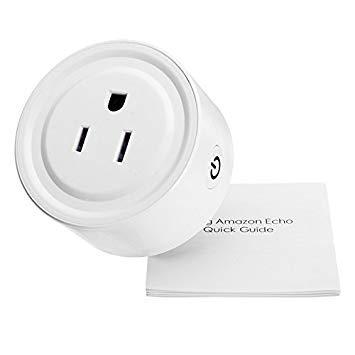 Preisvergleich Produktbild Generic Mini Smart Wifi Wireless Socket US-Stecker Fernbedienung Steckdosenleiste Timing Schalter für Smart Home Support Amazon Alexa - Arduino Kompatibel SCM & DIY Kits - Modul Board