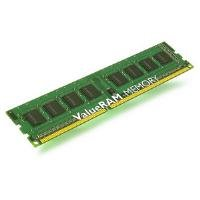 Kingston Technology ValueRAM 1GB 1333MHz DDR3 Non-ECC CL9 DIMM - Memoria (1 GB,...