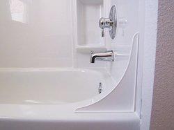 Golden Ideen 4ttc Spritzschutz Badewanne Tender