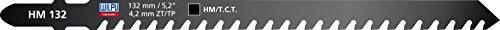 1 HM Stichsägeblatt 132mm , für Bosch , für GFK, Gasbeton, Hartholz , für Bosch, Stichsägeblätter