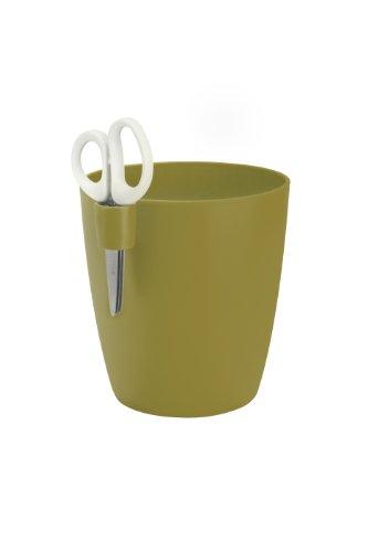 Elho Pflanzgefäß brussels kräuter single l, olive grün