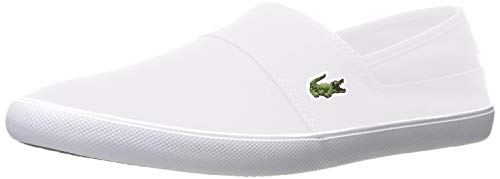 Lacoste Men's Marice BL 2 Fashion Sneaker, White, 8. 5 M US