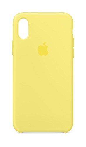 Image of iPhone X Silicone Case - Lemonade