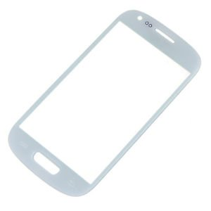 Just Mobile Replacement Front Outer Screen Glass Samsung Galaxy S3 Slll MINI i8190 White