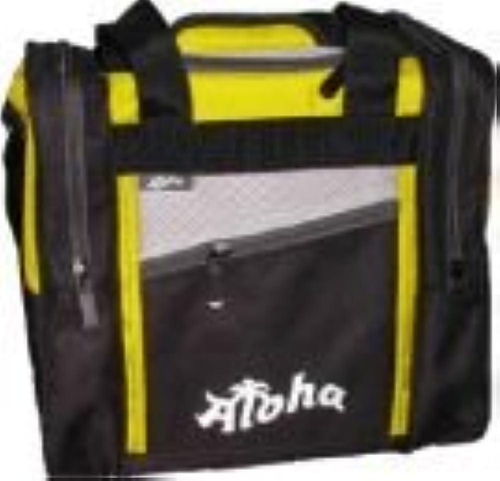 Bowlingtasche Aloha 1-Ball Tasche Compact Plus, Farbe:Gelb
