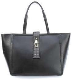 Roberto Cavalli Class Incognito Bolso shopping negro