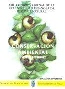XII Congreso Bienal de la R.S.E. de Historia Natural.Conservación Ambiental (Congresos) por Josefina Alvarez Andrés