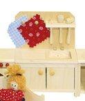 Preisvergleich Produktbild Rülke Holzspielzeug 22116 Küchenschrank mit Löffelbord