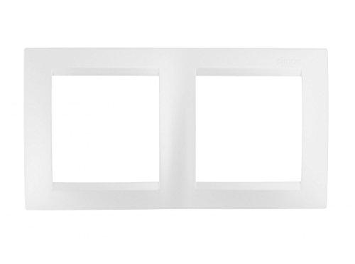 Simon M256209 - Marco 2 elementos serie 15 blanco