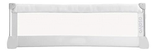 Asalvo 151505 - Barrera de cama 150 cm para bebés, color blanco