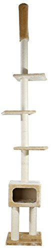 trixie-santander-rascador-gato-piso-a-techo-9-cm-color-beige