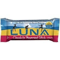 Cliff Bar Luna Bar, Og, Choc Pepprmnt, 15- 1.69-Ounce Bars by Millbrook Distribution Services Inc. (1.69 Ounce Bars)