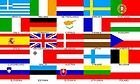 EURO 25 COUNTRIES 5ftx 3ft EUROPEAN FLAG