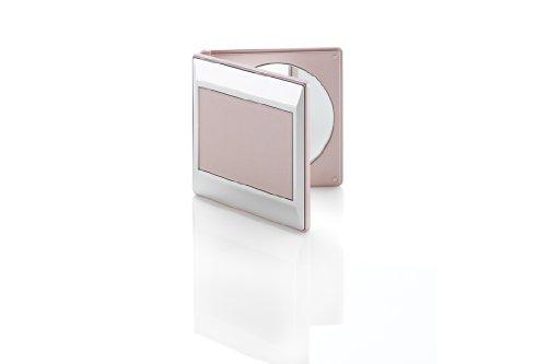 Miroir de poche 2 faces grossissant x5 nude