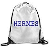 MGTER66 Backpack Gymsack Sack Pack Hermes White