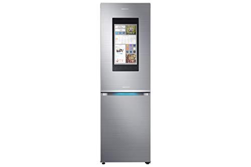 Samsung Family Hub 2.0 RB38M7998S4/EF Kühl-Gefrier-Kombination / A++ / 192,7 cm / 268 kWh/Jahr / 226L Kühlteil / 130L Gefrierteil / Food Cam und Food Reminder / Rezepte App [Energieklasse A++]