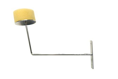 ShopDirect Huthalter Mützenhalter Kappenhalter zur Wandmontage mit Schrauben - Halter für Mützen, Hüte, Kappen, Perücken - verchromt