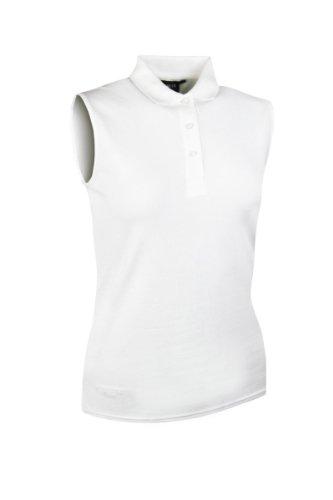 Glenmuir-Marion-Ladies-Cotton-Sleeveless-Polo-Golf-Shirt