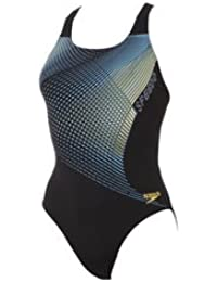 Speedo Damen Badeanzug V123 Esoteric Placement Powerback Swimsuit