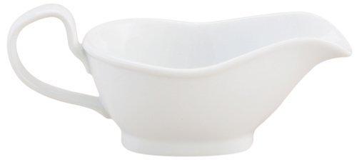 HIC 8-ounce Porcelain Gravy Boat by Harold Import Company, Inc. Import Gravy Boat