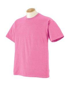 Authentic Pigment Herren T-Shirt Large Gr. Small, Flamingo (Herren-pigment)