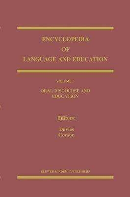 [(Oral Discourse and Education: Oral Discourse and Education v. 3)] [Edited by Bronwyn Davies ] published on (November, 2005)