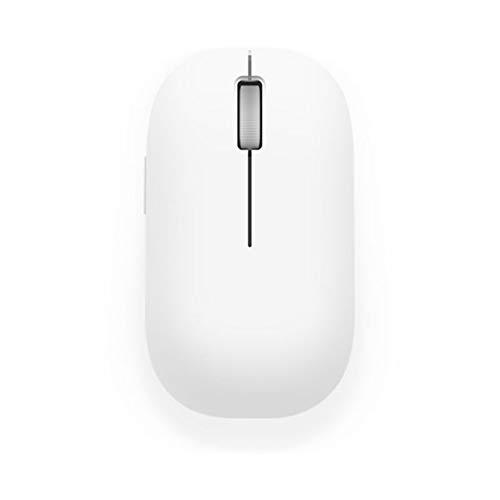msbeen Kabellose Maus 1200dpi RF 2,4 GHz Optische tragbare Maus für MacBook Mi Notebook Laptop Computer Kabellose optische Maus, weiß -